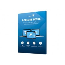 F-SECURE Total Security and Privacy 3 laitetta, 1 vuosi, ESD