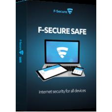 F-SECURE SAFE 3 laitetta, 1 vuosi, ESD