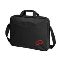 FUJITSU Casual Entry Case Black Nylon Red logo 16inch