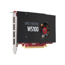 FUJITSU AMD FirePro W5100 4GB 4x DP PCIe x16 w/o adapters