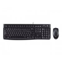 LOGITECH Desktop MK120 - Näppäimistö- ja hiiri - USB - Pohjoismaat